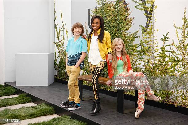 ANT FARM Disney Channel's 'ANT Farm' stars Jake Short as Fletcher Quimby China Anne McClain as Chyna Parks and Sierra McCormick as Olive Doyle
