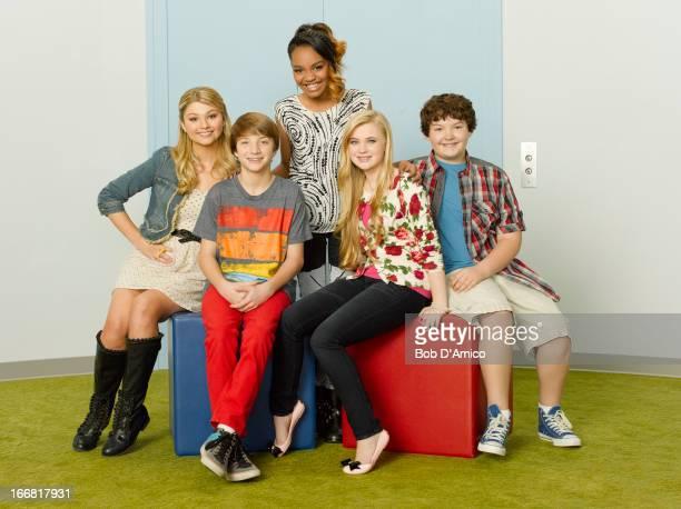 FARM Disney Channel's 'ANT Farm' stars Stefanie Scott as Lexi Jake Short as Fletcher China Anne McClain as Chyna Sierra McCormick as Olive and Aedin...