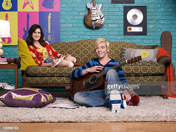 AUSTIN ALLY Disney Channel's 'Austin Ally' stars Laura Marano as Ally and Ross Lynch as Austin