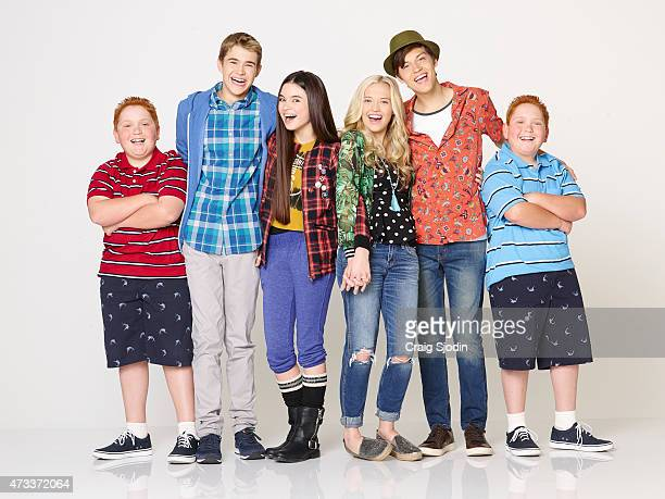WHENEVER Disney Channel's 'Best Friends Whenever' stars Matthew Royer as Chet Gus Kamp as Barry Landry Bender as Cyd Lauren Taylor as Shelby Ricky...