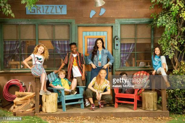 D Disney Channel's BUNK'D stars Mallory James Mahoney as Destiny Will Buie Jr as Finn Israel Johnson as Noah Shelby Simmons as Ava Miranda May as Lou...