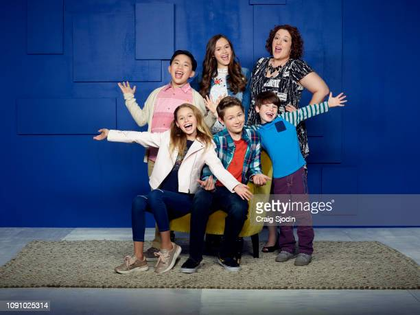 WORLD Disney Channel's 'Coop and Cami Ask the World' stars Albert Tsai as Fred Ruby Rose Turner as Cameron Olivia Sanabia as Charlotte Dakota Lotus...