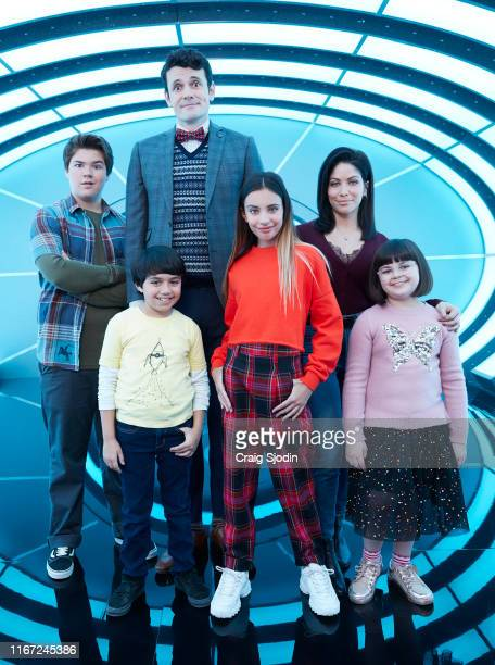 UNSITTABLES Disney Channel's Gabby Duran and the Unsittables stars Maxwell Acee Donovan as Wesley Callan Farris as Jeremy Nathan Lovejoy as Principal...