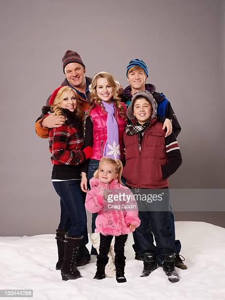 S CHRISTMAS Disney Channel's Good Luck Charlie It's Christmas stars LeighAllyn Baker as Amy Duncan Eric Allan Kramer as Bob Duncan Bridgit Mendler as...