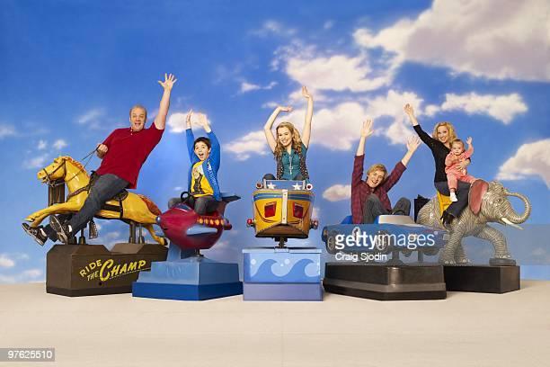 CHARLIE Disney Channel's Good Luck Charlie stars Eric Allan Kramer as Bob Bradley Steven Perry as Gabe Bridgit Mendler as Teddy Jason Dolley as PJ...