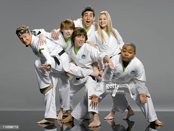 KICKIN' IT Disney Channel's 'Kickin' It' stars Jason Earles as Rudy Dylan Riley Snyder as Milton Leo Howard as Jack Mateo Arias as Jerry Olivia Holt...