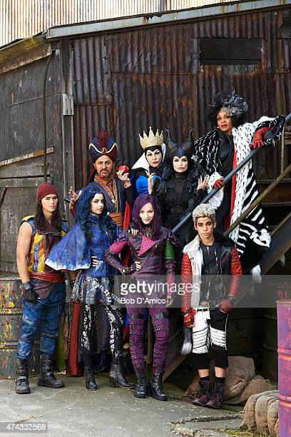 DESCENDANTS Disney Channel's original movie 'Descendants' stars Booboo Stewart as Jay Sofia Carson as Evie Maz Jobrani as Jafar Dove Cameron as Mal...