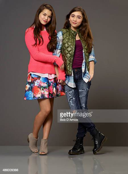 SISTER Disney Channel's original movie 'Invisible Sister' stars Paris Berelc as Molly and Rowan Blanchard as Cleo