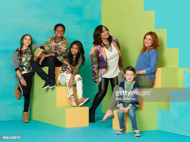 S HOME Disney Channel's 'Raven's Home' stars Sky Katz as Tess Issac Ryan Brown as Booker Navia Robinson as Nia RavenSymone as Raven Baxter Jason...