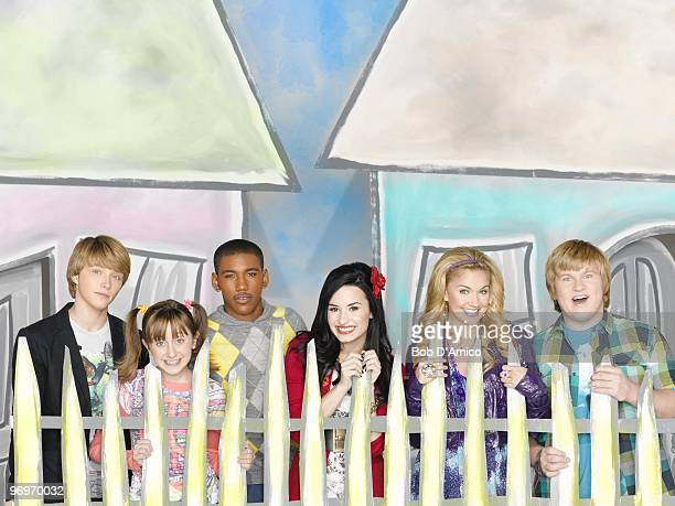 CHANCE Disney Channel's Sonny with a Chance stars Sterling Knight as Chad Allisyn Ashley Arm as Zora Brandon Mychal Smith as Nico Demi Lovato as...