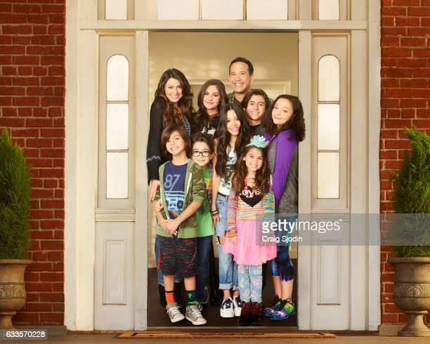 MIDDLE Disney Channel's 'Stuck in the Middle' stars Cerina Vincent as Suzy Diaz Nicolas Bechtel as Lewie Diaz Malachi Barton as Beast Diaz Ronni Hawk...