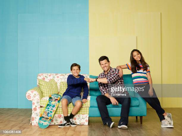 MAX Disney Channel's Sydney to the Max stars Jackson Dollinger as young Max Reynolds Ian Reed Kesler as adult Max Reynolds and Ruth Righi as Sydney...