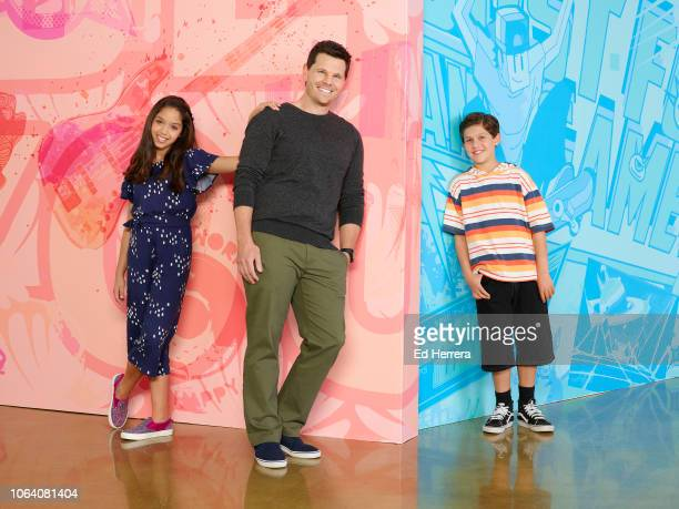MAX Disney Channel's Sydney to the Max stars Ruth Righi as Sydney Reynolds Ian Reed Kelser as adult Max Reynolds and Jackson Dollinger as young Max...