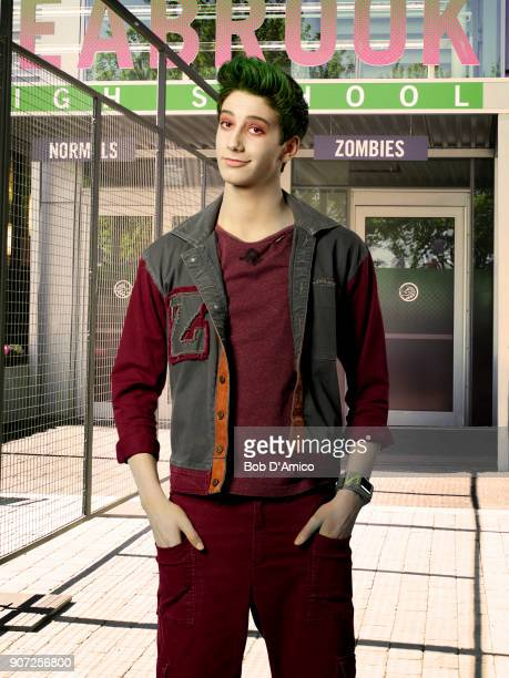 ZOMBIES Disney Channel's Zombies stars Milo Manhiem as Zed