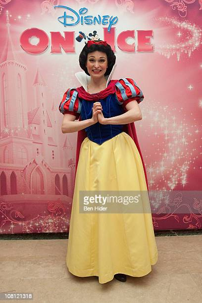 Disney character Snow White attends a tea party at The Plaza Hotel on January 18 2011 in New York City
