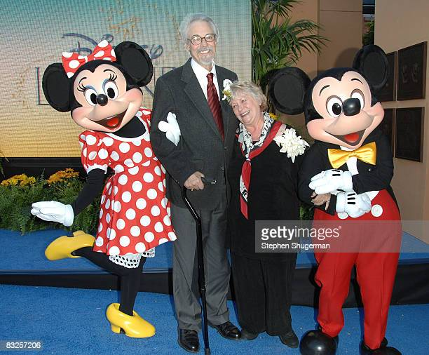 Disney charactor Minnie Mouse the voice of Mickey Mouse Disney Legend Honoree Wayne Allwine the voice of Minnie Mouse Disney Legend Honoree Russi...