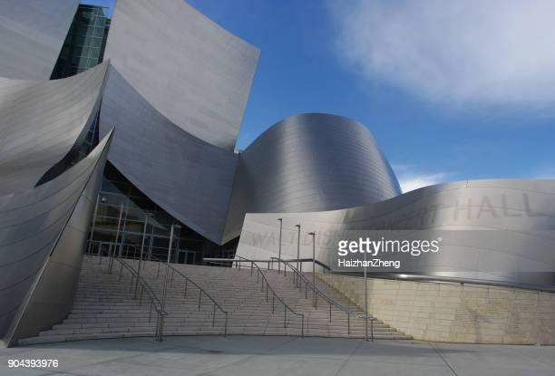 Disney Concert Hall at Dusk - Los Angeles