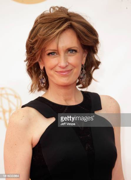 Disney executive Anne Sweeney arrives at the 65th Annual Primetime Emmy Awards held at Nokia Theatre LA Live on September 22 2013 in Los Angeles...