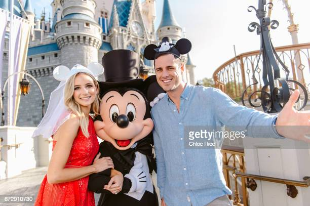 SPECIALS 'Disney Fairytale Weddings Special' Ben Higgins and Lauren Bushnell host Freeforms original special Disneys Fairy Tale Weddings from Walt...