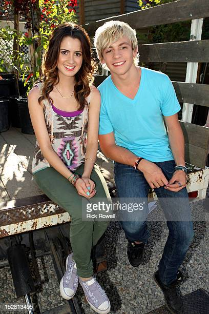 S FRIENDS FOR CHANGE Disney Friends for Change Ambassadors Ross Lynch and Laura Marano from Disney Channel's 'Austin Ally' help green San Pedro...