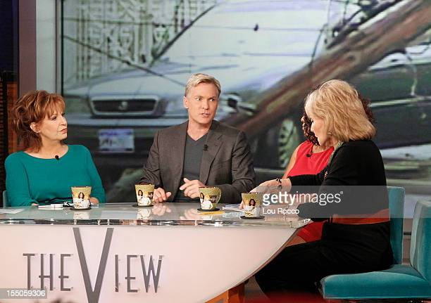 THE VIEW Walt Disney Television via Getty Images News' Sam Champion discusses Hurricane Sandy today on The View The View airs MondayFriday on the...