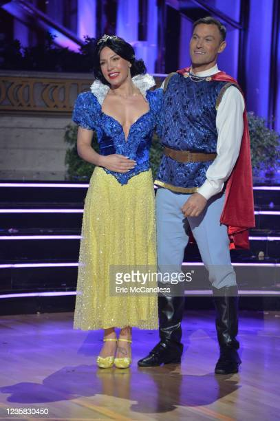 """Disney Heroes Night"""" and """"Disney Villains Night"""" - The magic of Disney Week will transform the ballroom as the remaining 13 celebrity and pro-dancer..."""