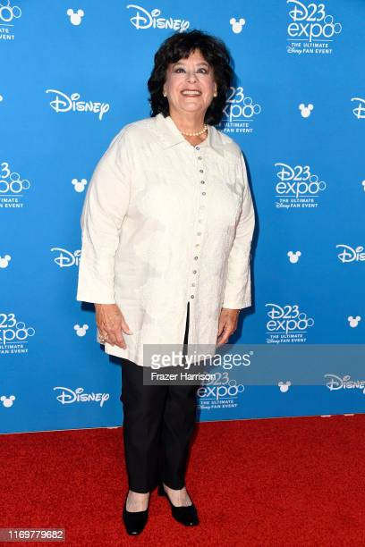 Disney Legend Barnette Ricci attends the Disney Legends Ceremony during D23 Expo 2019 at Anaheim Convention Center on August 23 2019 in Anaheim...