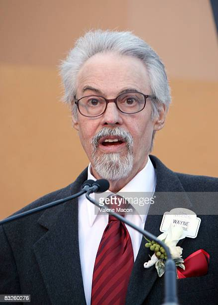 Disney Legend Honoree Wayne Allwine attend the Walt Disney Legends Ceremoni at the Walt Disney Studios on October 13 2008 in Burbank California