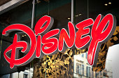 Disney Logo On Shop Window