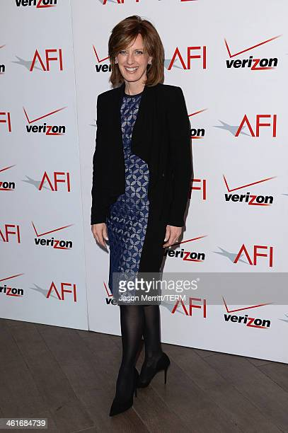 Disney Media CoChair and DisneyABC Television Group President Anne Sweeney attends the 14th annual AFI Awards Luncheon at the Four Seasons Hotel...