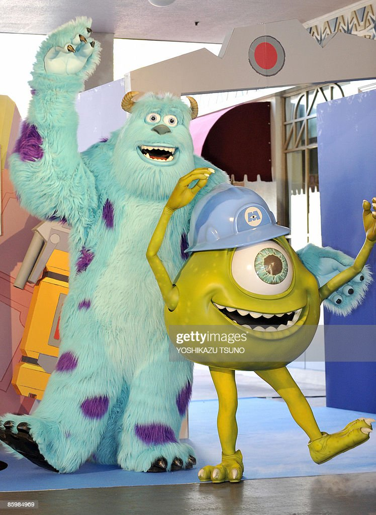 Disney Movie Monsters Inc Characters Surrey And Mike Celebrate News Photo Getty Images