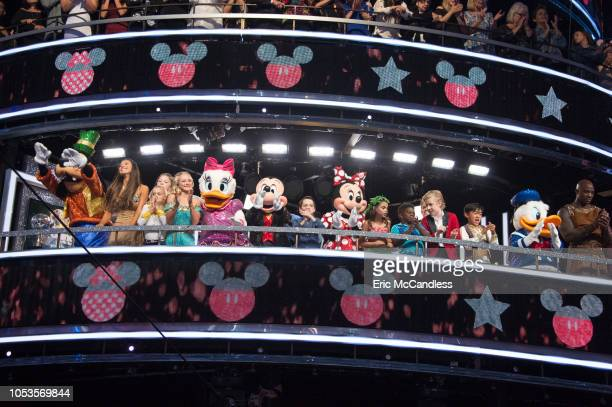 STARS 'Disney Night' The nine remaining celebrities are putting on their Mickey ears and getting ready to transform into some of their favorite...
