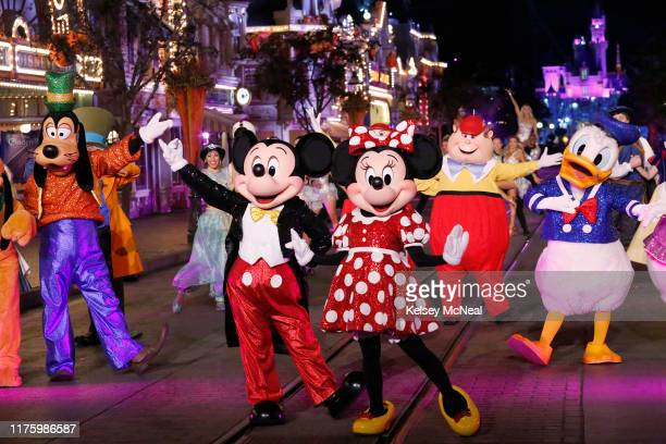 """Disney Night"""" - There will be Disney magic in the ballroom as nine celebrity and pro-dancer couples compete on the fifth week of the 2019 season of..."""