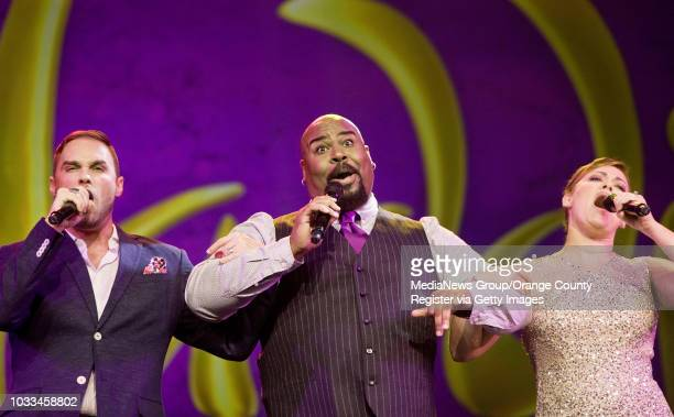 'Disney On Broadway 'The Originals'' includes Tarzan's Josh Strickland from left Tony Awardwinning Genie from 'Aladdin' James Monroe Iglehart and...
