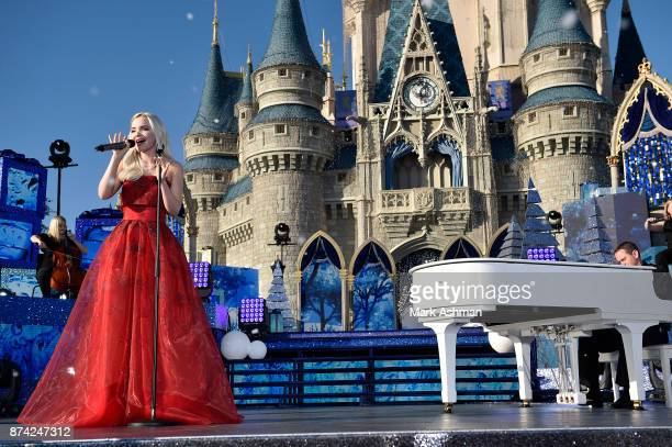 CELEBRATION 'Disney Parks Presents a Disney Channel Holiday Celebration' hosted by 'Raven's Home' stars RavenSymoné and Issac Ryan Brown debuts...