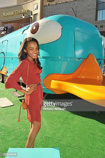 DIMENSION PREMIERE Disney rolled out the red carpet for the Hollywood premiere of the upcoming Disney Channel Original Movie Phineas and Ferb Across...