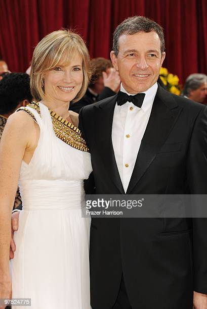 Disney Studios CEO Robert Iger and Willow Bay arrives at the 82nd Annual Academy Awards held at Kodak Theatre on March 7 2010 in Hollywood California