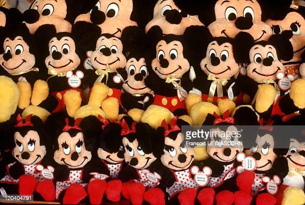 Disneyland In Los Angeles United States Mickey Mouse