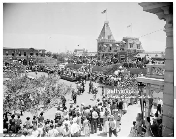 Disneyland opening, 17 July 1955.Anaheim; Orange; California; USA.