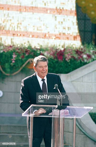 DISNEY Disneyland's 35th Anniversary Celebration Episode 15 Pictured Ronald Reagan