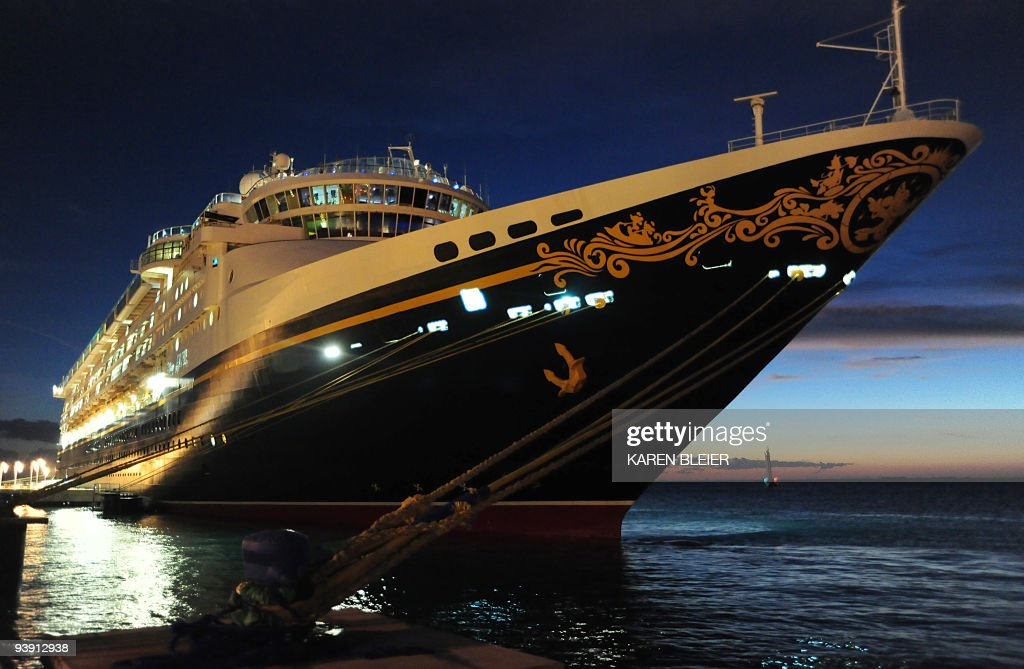 Disneys Cruise Ship Magic Sits At The D Pictures Getty Images - Cruise ship magic