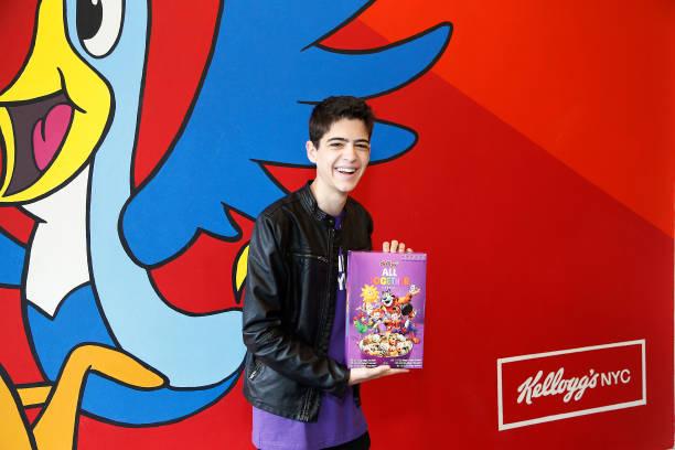 NY: Disney's Joshua Rush Host Spirit Day Kick-Off With GLAAD & Kellogg Company