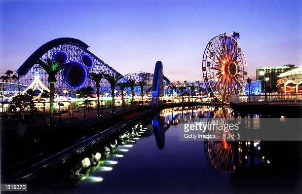 Disney''s new California Adventure Park will offer the 'California Screamin' roller coaster and the giant 'Sun Wheel' as attractions The park is set...