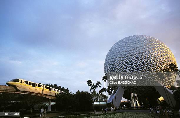 Disneyworld On January 1st 1997 In Orlando United States Epcot