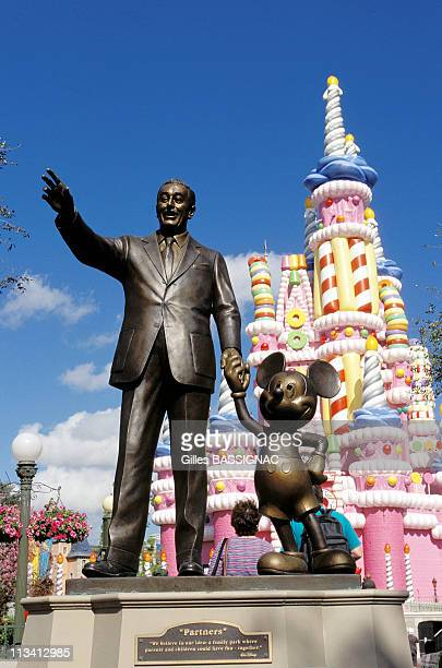 Disneyworld On January 1st 1997 In Orlando United States Walt Disney And Mickey