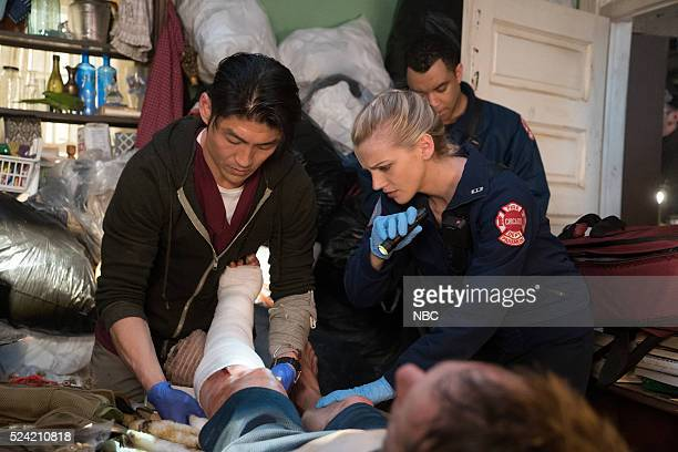MED Disorder Episode 116 Pictured Brian Tee as Dr Ethan Choi Kara Killmer as Sylvie Brett