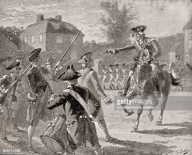 Disperse you scoundrels John Pitcairn at The Battle of Lexington 1775 John Pitcairn 1722 – 1775 British Marine officer stationed in Boston...