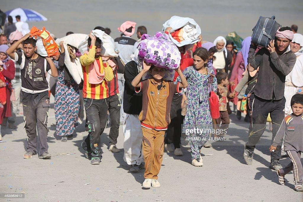IRAQ-UNREST-YAZIDIS : News Photo