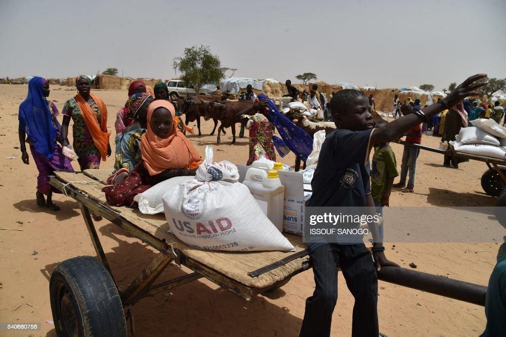 NIGER-UNREST-NIGERIA : News Photo