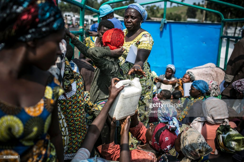 Crisis Deepens For The Internally Displaced At Democratic Republic Of Congo : Foto jornalística